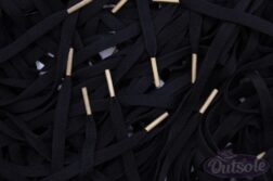 Black Nike laces Sail Off White tips 252x167 - Black Nike laces - Sail Off White tips