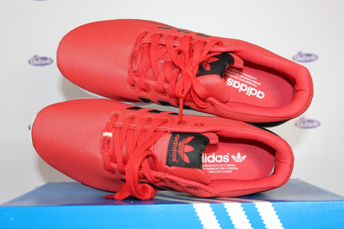 size 40 aa329 35c0e Adidas Torsion ZX Flux Red