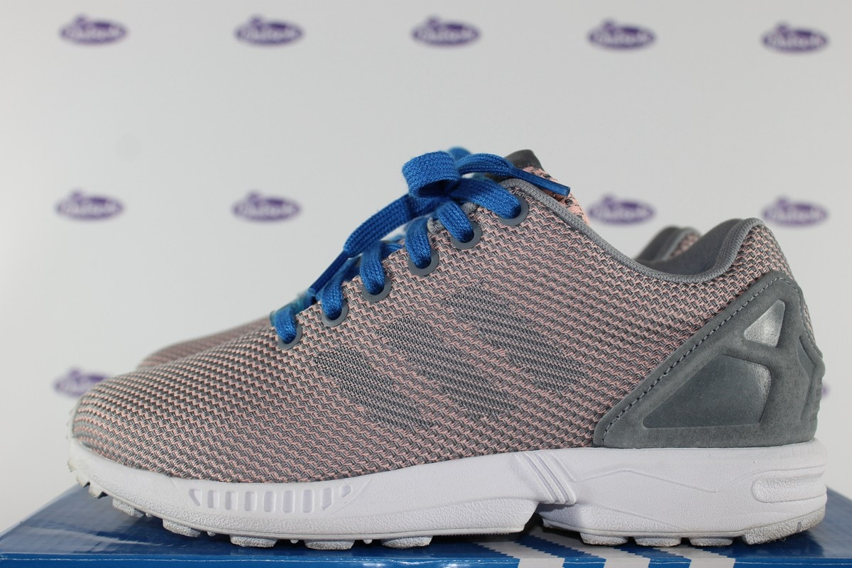 adidas zx flux weave glocor grey outsole. Black Bedroom Furniture Sets. Home Design Ideas