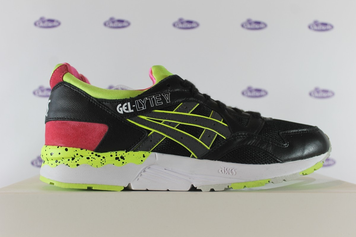 1ad8f95618ab Asics Gel Lyte V Photo Sample Black Yellow
