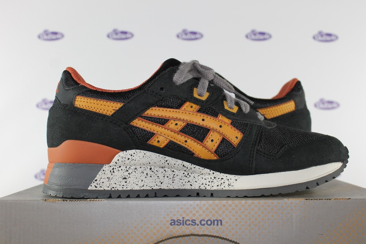 on sale e882e f537c Asics Gel Lyte III Black Tan