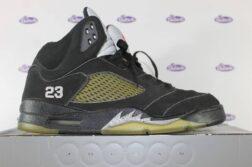 Nike Air Jordan V Retro Black Metallic