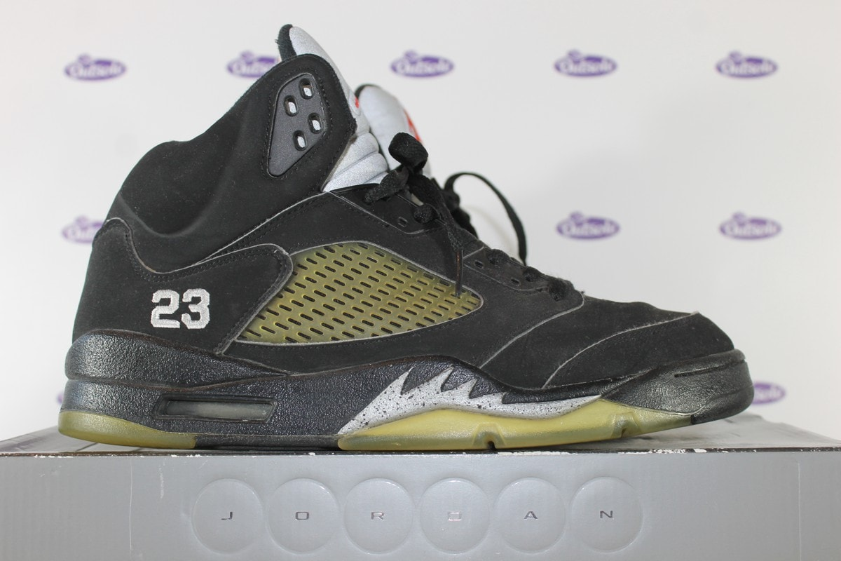 the best attitude 28600 aef49 Nike Air Jordan V Retro Black Metallic