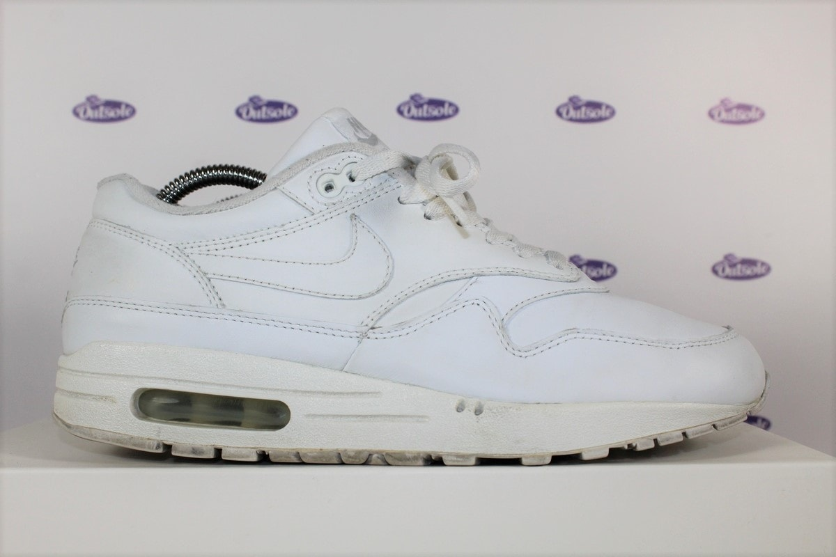 Nike Air Max 1 All White  07  09815d0cd