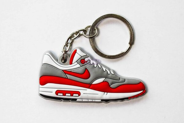 nike air max 1 keychain og red hoa 1 600x400 - Nike Air Max 1 OG Red keychain