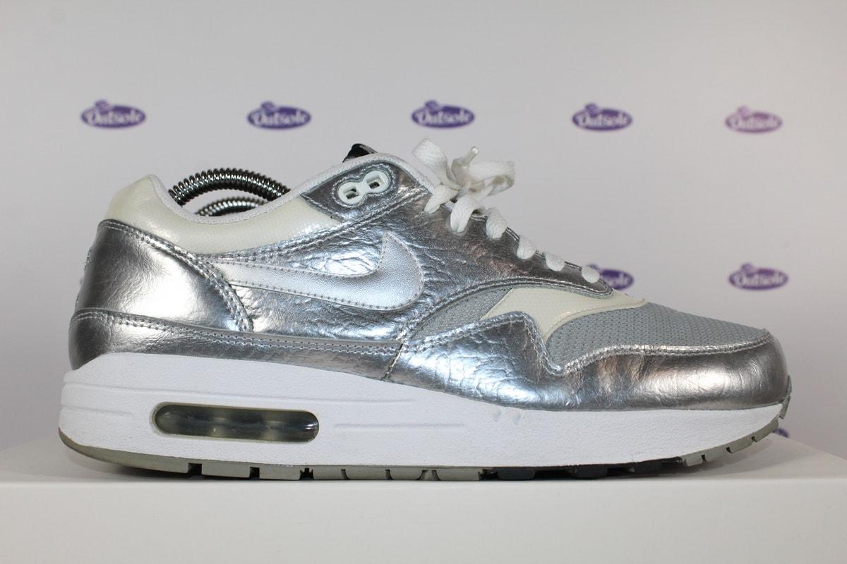 brand new abb98 64627 Nike Air Max 1 Apollo Lunar Silver