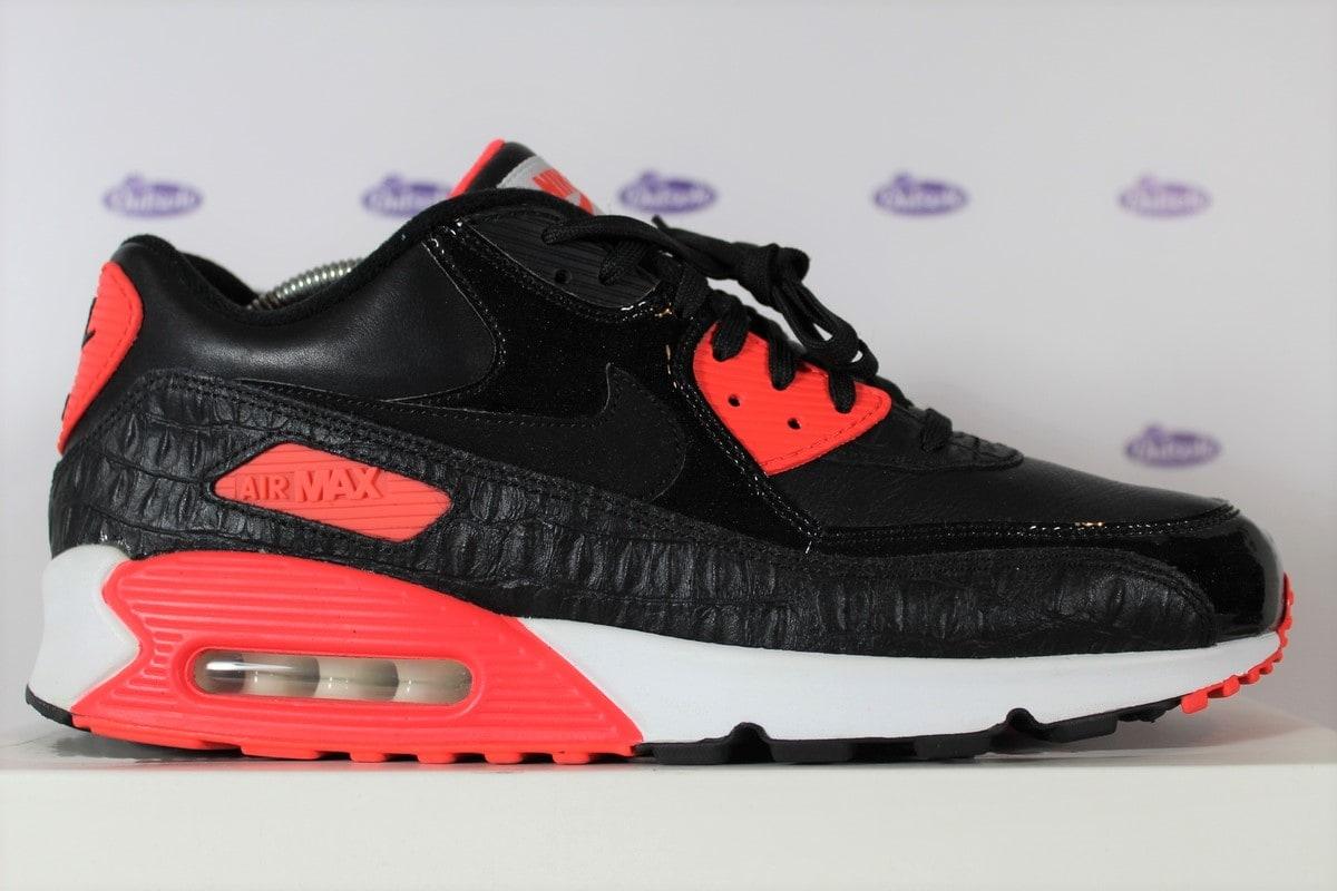 free shipping 24e5d 8bb8e Nike Air Max 90 Anniversary Black Infrared