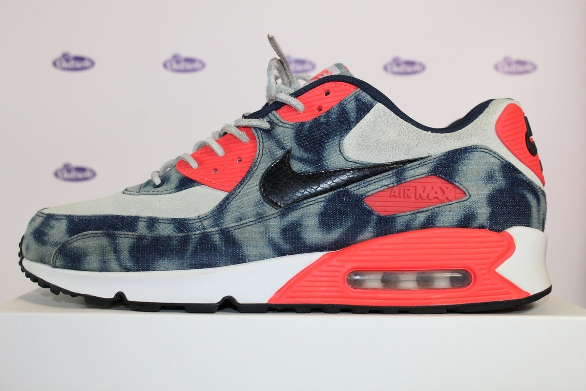 new arrival 4cc15 efd82 nike air max 90 washed bleached denim infrared 13 5 600x400 - Nike Air Max  90