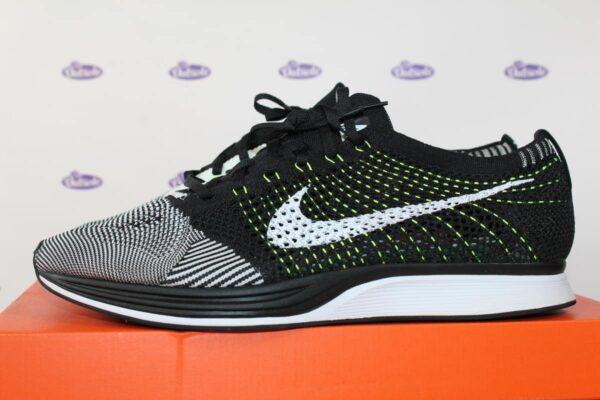e5c3a7e03589b Nike Flyknit Racer Black White