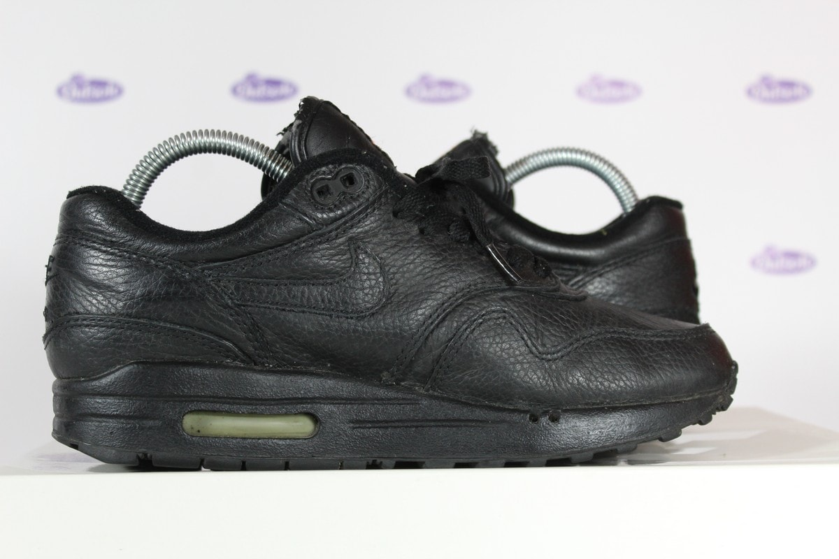 brand new d5330 420be Nike Air Max 1 All Black Leather 1999