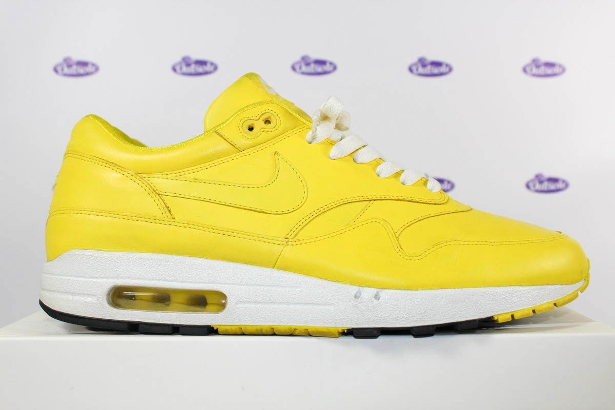 nike air max 1 id yellow leather outsole. Black Bedroom Furniture Sets. Home Design Ideas