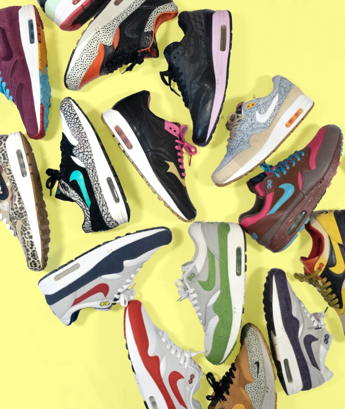 on sale 75f2f 4d932 Nike Air Max 1 collection Outsole - Home