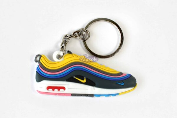 nike air max 1 97 keychain sean wotherspoon 600x400 - Nike Air Max 1/97 Sean Wotherspoon keychain