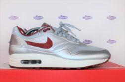 Nike Air Max 1 Hyperfuse QS Metallic Silver Deep Red 41 5 252x167 - Nike Air Max 1 Hyperfuse QS Silver Red