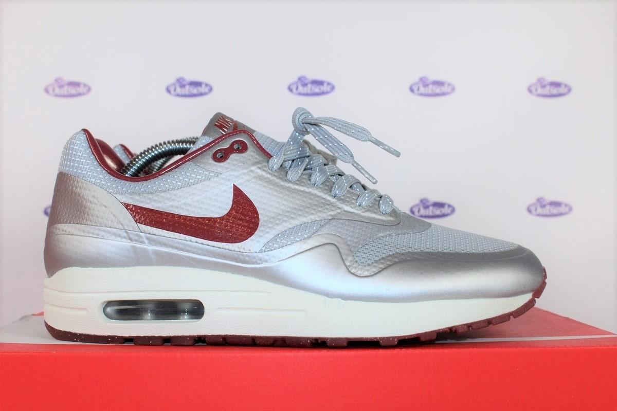 Nike Air Max 1 Hyperfuse QS Silver Red