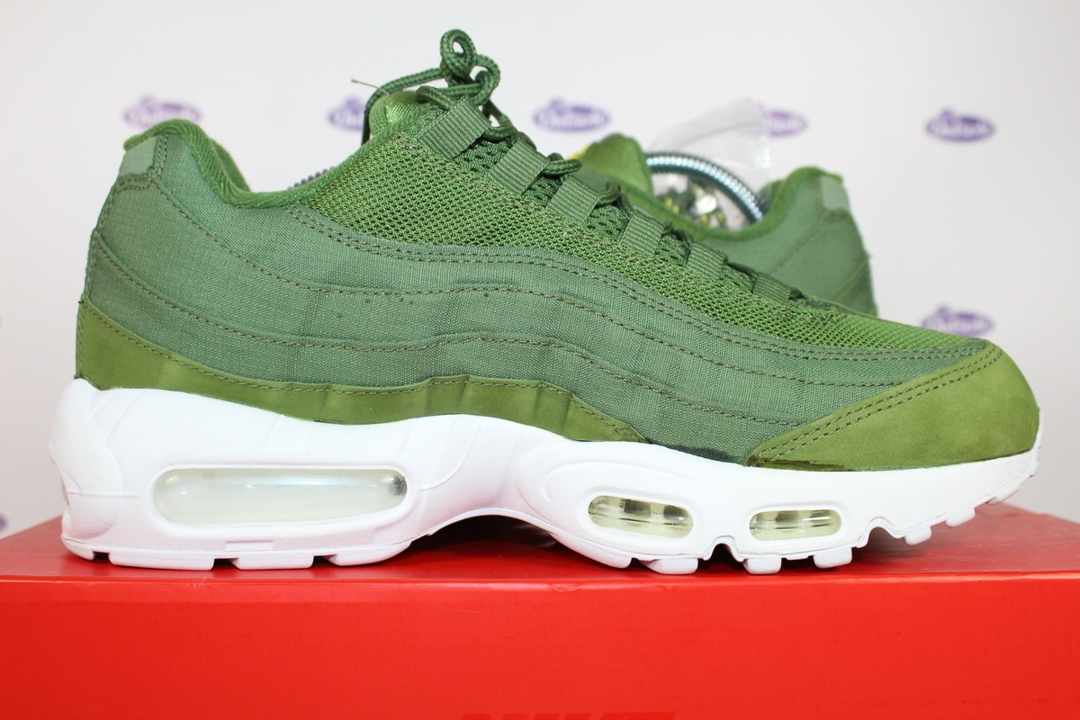 on sale a13b4 603c3 Nike Air Max 95 Stussy Dark Olive Green