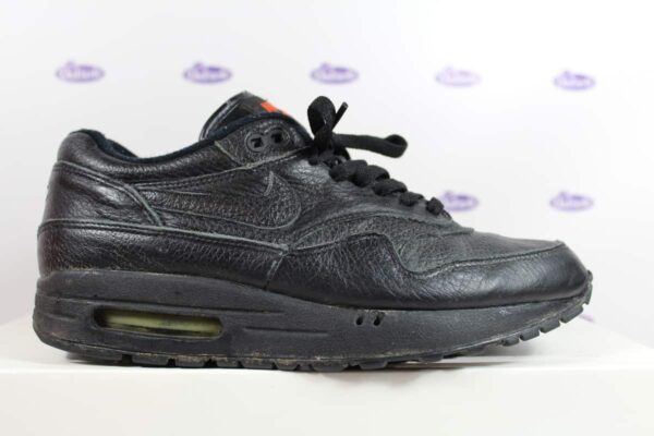 Nike Air Max 1 All Black Leather 00 4 600x400 - Nike Air Max 1 All Black Leather '00