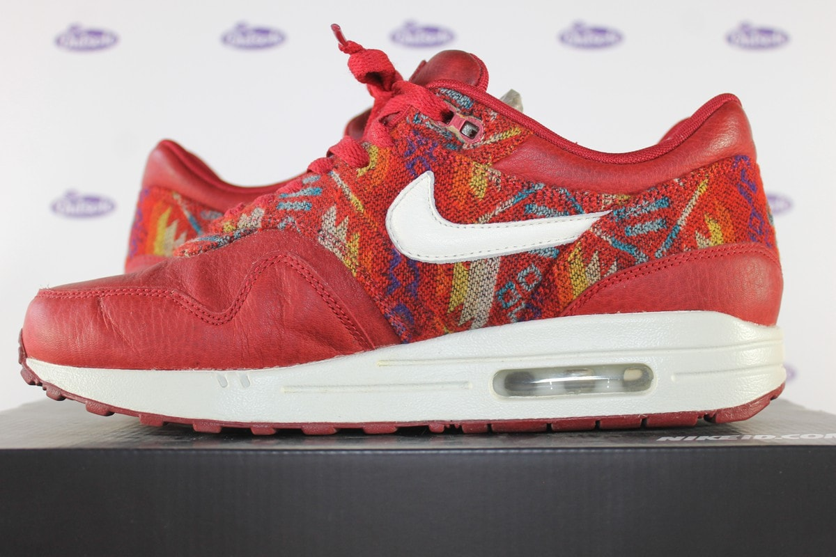 Nike Air Max 1 ID Premium Pendleton Red