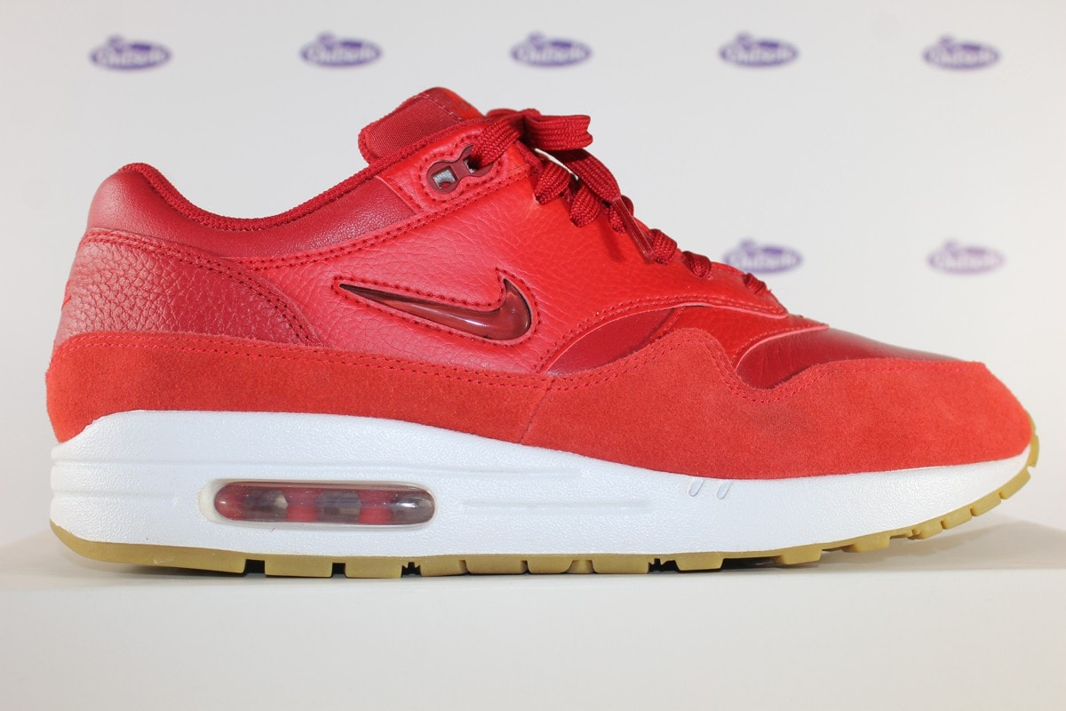 offer discounts online store get online Nike Air Max 1 Premium SC Jewel Gym Red