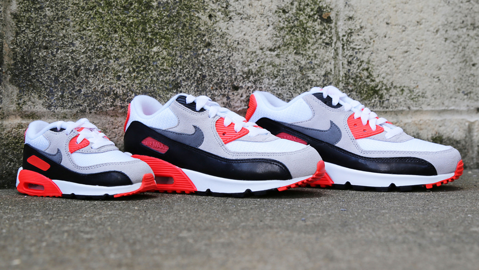 Nike Air Max 90 Infrared Family OG Outsole - Wat zijn de verschillen tussen herensneakers en damessneakers?
