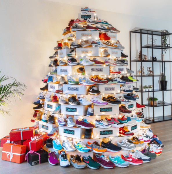 Outsole christmas sneaker tree - ✓ Blog: Why are second hand sneakers that valuable?
