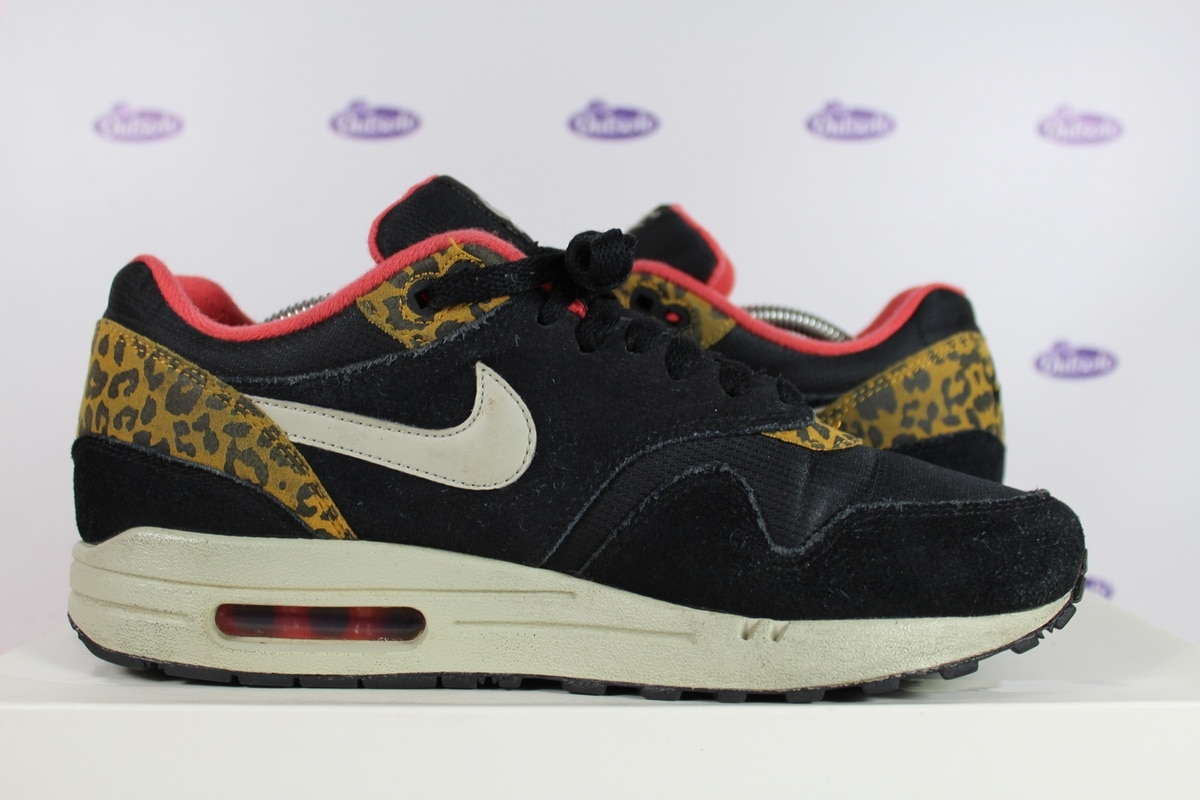 Nike Air Max 1 Black Leopard
