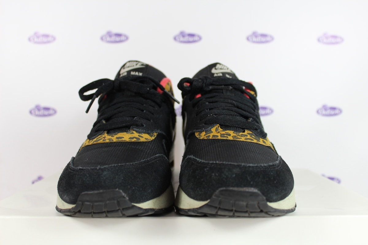 Nike Air Max 1 Black Leopard   Exclusief bij Outsole