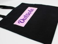 Outsole tote bag Elephant Purple Pink Black 2 200x150 - Outsole tote bag - Black