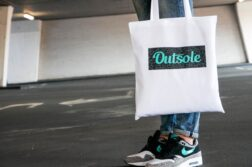 Outsole tote bag Elephant Jade Black White 6 kopie 252x167 - Outsole