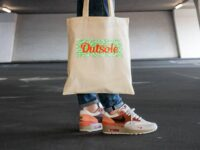 Outsole tote bag Elephant Orange Lime Beige 6 1 200x150 - Outsole tote bag - Beige