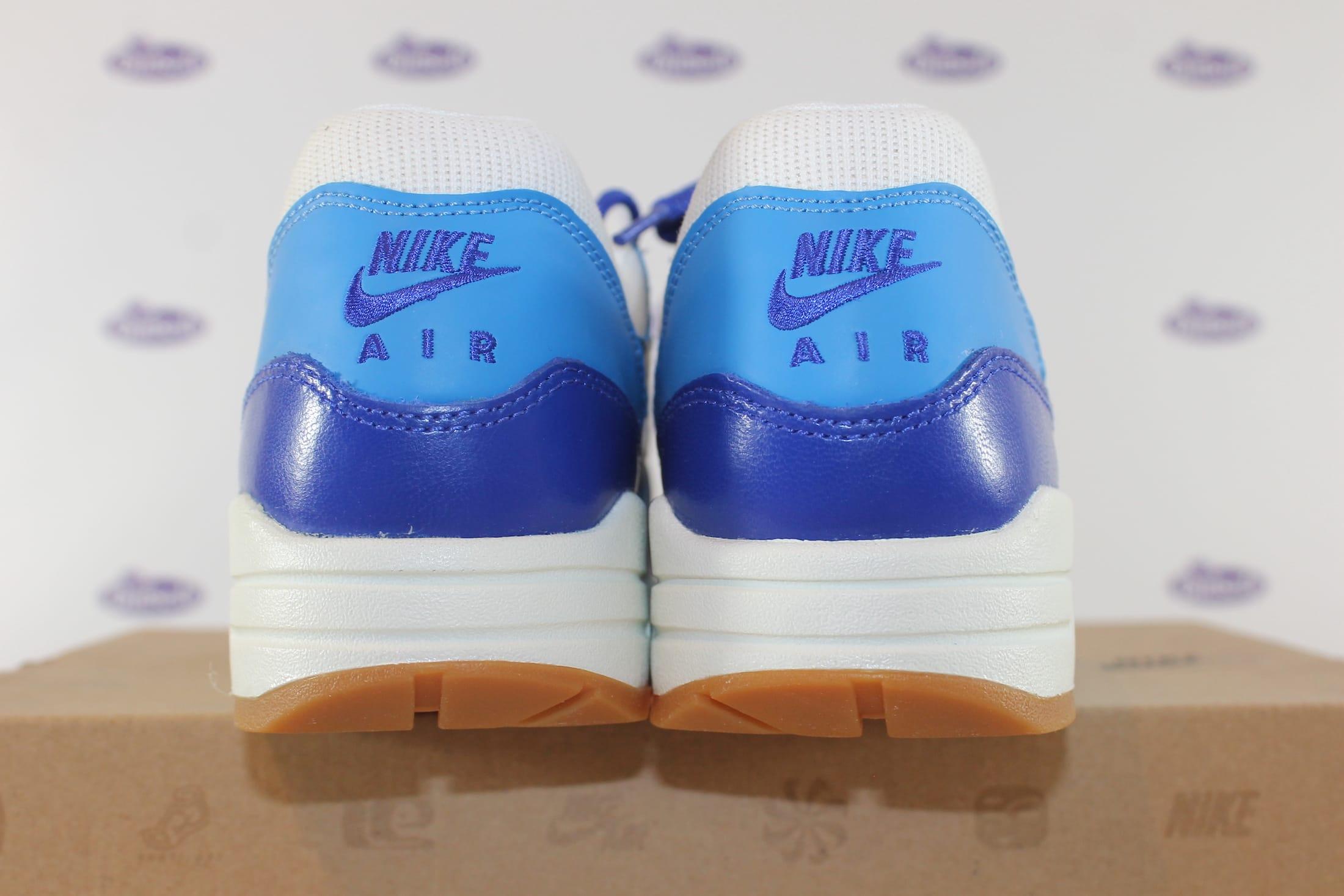 Nike Air Max 1 Vintage Sail Hyper Blue Gum