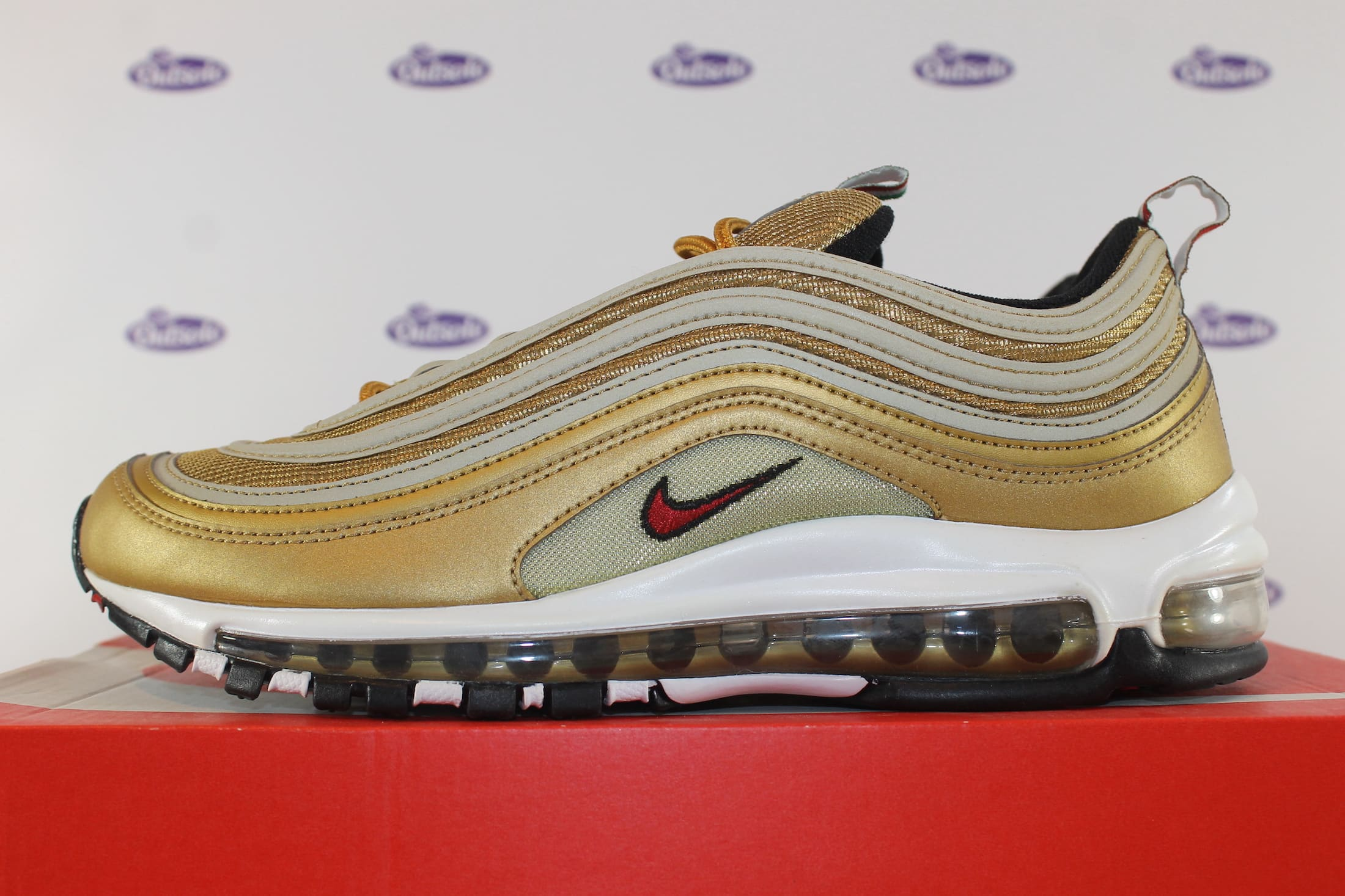 Nike Air Max 97 Metallic Gold Italy