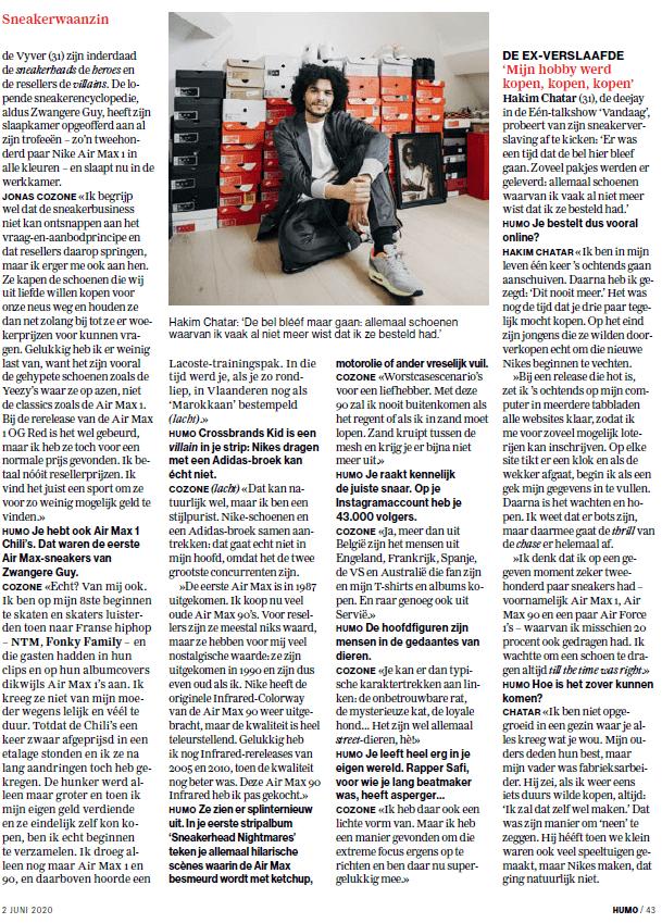 Outsole x Humo 5 - Sneakerwaanzin: een gebruikte Nike voor € 13.000 euro