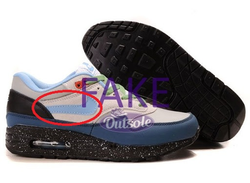 Fake counterfeit neppe Nike Air Max 1 Adventure Pack swoosh - ✓ Blog: How to spot a fake, counterfeit or replica Nike Air Max 1 sneaker?