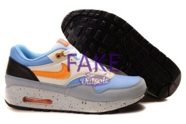 Fake counterfeit neppe Nike Air Max 1 Skull Pack Blue 1 370x247 - How to spot a fake, counterfeit or replica Nike Air Max 1 sneaker?