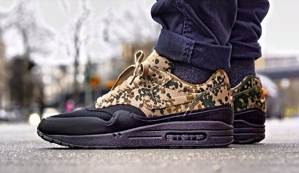 Nike Air Max 1 SP German Country Camo Friends Family FF TZ e1619166750300 - All Nike Air Max 1 & 90 Hyperstrikes and Friends & Family releases