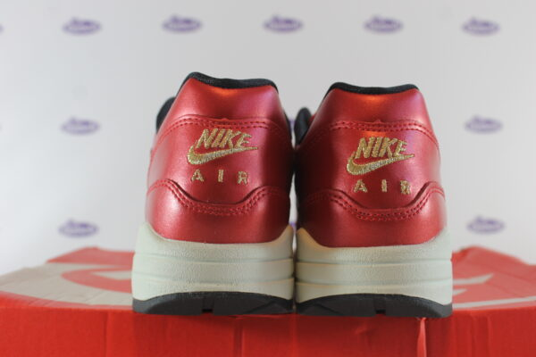 nike air max 1 red gold sequin 375 4 600x400 - Nike Air Max 1 Red Gold Sequin