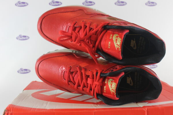 nike air max 1 red gold sequin 375 7 600x400 - Nike Air Max 1 Red Gold Sequin