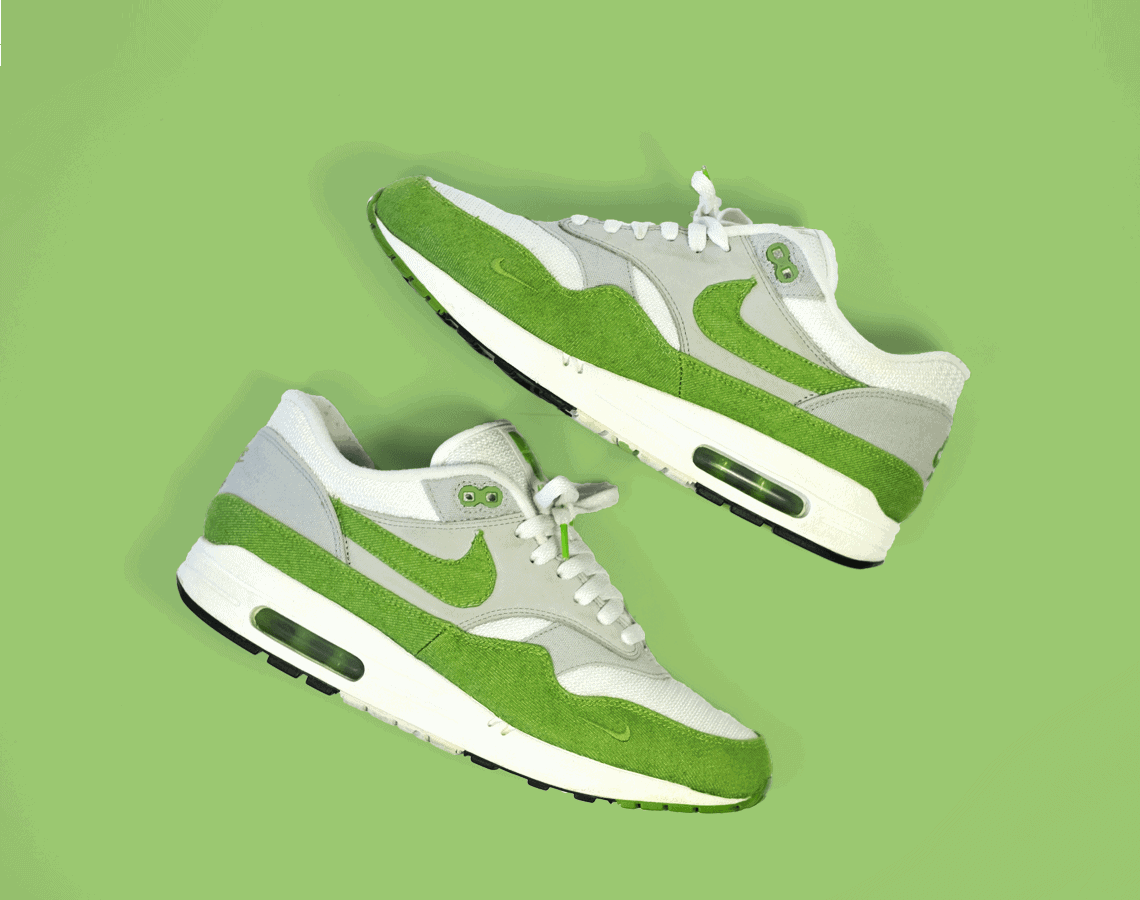 Nike Air Max 1 Patta Chlorophyll Green Outsole - Outsole