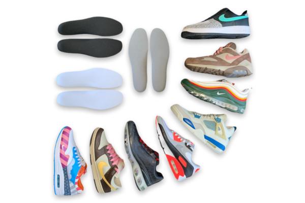 Outsole insoles for Nike sneakers air max dunk jordan air force 600x400 - Binnenzolen voor Nike sneakers - Grijs